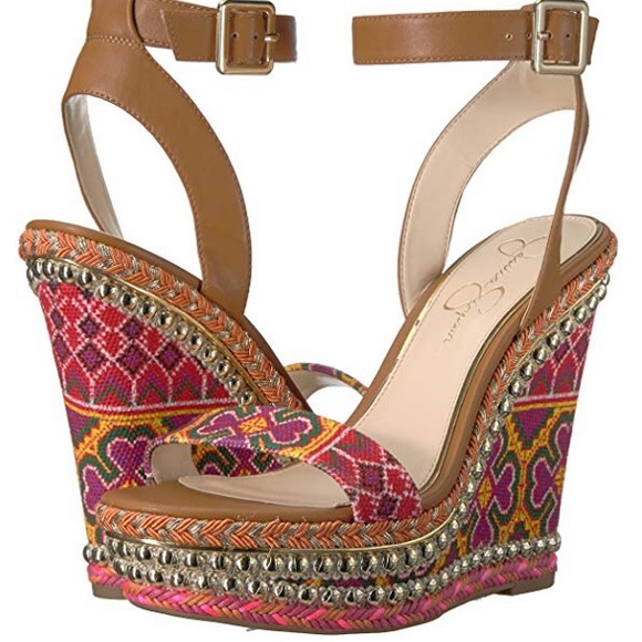 bdbd35797e0c Jessica Simpson Shoes - Jessica Simpson Alinda Platform Wedges!